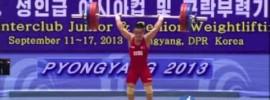 Om Yun Chol 169kg Clean & Jerk World Record
