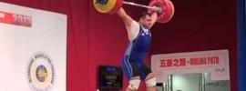 Ruslan Albegov 209kg Snatch