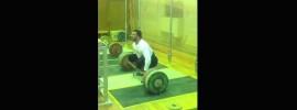 Dmitry Berestov 210kg x3 Clean