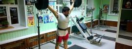Karen Martirosian 200kg BTN Snatch Grip Push Press