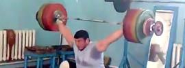 Magomed Abuev 205kg Snatch