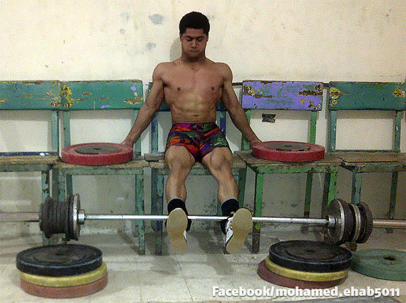 Mohamed Ehab Isometric Leg Extension