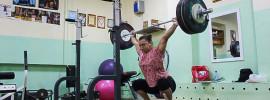 Nadezhda Evstyukhina 130kg x2 Heaving Snatch Balance