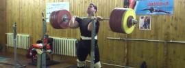 Arthur Mugurdumov 260kg Front Squat