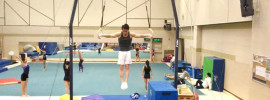 Butterfly Pulls to Iron Cross on Rings