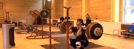 Julia Konovalova 190kg Front Squat