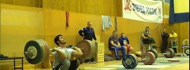 Razmik Unanyan 205kg Clean from Blocks