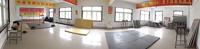 huainan gym panorama