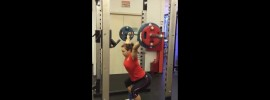 Nadezda Evstyukhina Snatch Assistance Exercise