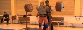 Oksana Slivenko 200kg x2 Squat
