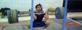 Mohamed Ehab 212kg Front Squat