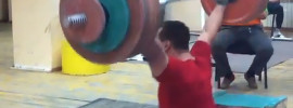 Ilya Ilyin 200kg Snatch off Blocks