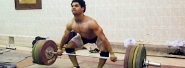 Mohamed Ehab 155kg Snatch Grip Deadlift Complex