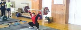 artem okulov 190kg snatch from hang