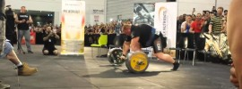 Benedikt Magnusson 445kg Deadlift with Straps