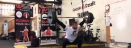 Dmitry Klokov CrossFit Workout Isabel *Update:* 100kg Version