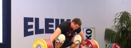 Alexey Lovchev 205kg Snatch + 252kg C&J 2014 European Champion