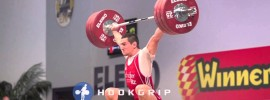 Ivan Markov 175kg Snatch + 210kg Clean & Jerk 2014 European Champion