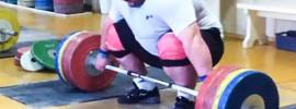 Chingiz Mogushkov 190kg Snatch Deadlift + Snatch