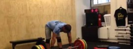 Dmitry Klokov 185kg Thruster + Push Press + Paused Jerk