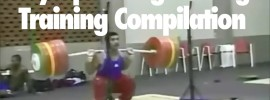 Olympic Weightlifting Training Compilation