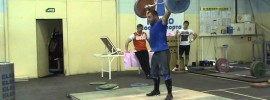 Vasiliy Polovnikov 140kg Muscle Snatch