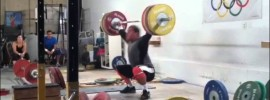 Vasiliy Polovnikov 150kg Muscle Snatch