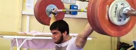 Adam Maligov 185kg Snatch