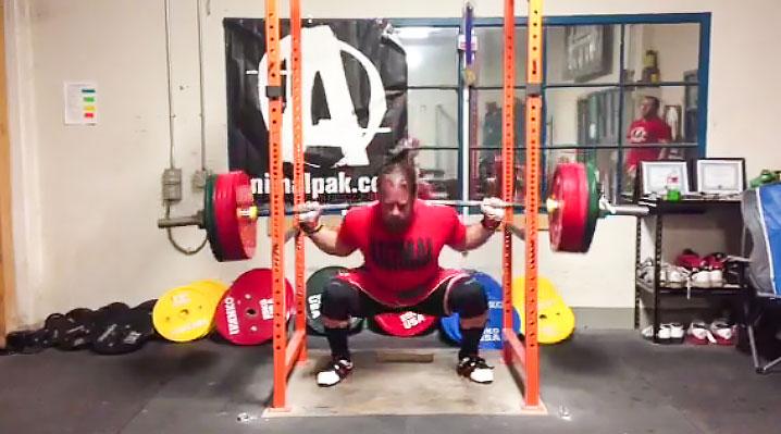 Dan Green Powerlifting 2014