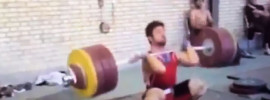 Kianoush Rostami (85kg) 220kg Clean & Jerk