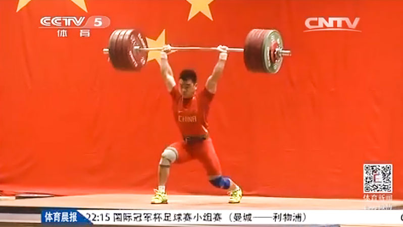 Liao hui 200kg clean amp jerk at chinese test event update 165kg