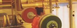 Marina Kaneva 170kg Squat at 66kg