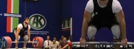 Adam Maligov & Rinat Kireev at 2014 Russian Championships 94kg