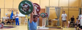 Khetag Khugaev 200kg Clean & Jerk (85kg, 16y/o)