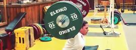 Nadezhda Lomova 115kg Snatch off Blocks