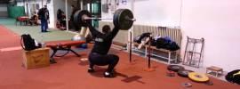 Asmir Kolasinac (Shot Putter) 170kg Hang Snatch