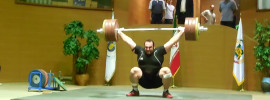 Behdad Salimi 215kg Snatch *Update* Bahador Moulaei 261kg Clean