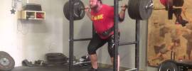 Chad Wesley Smith 365kg Squat x2 + Walkout & Hold Explanation