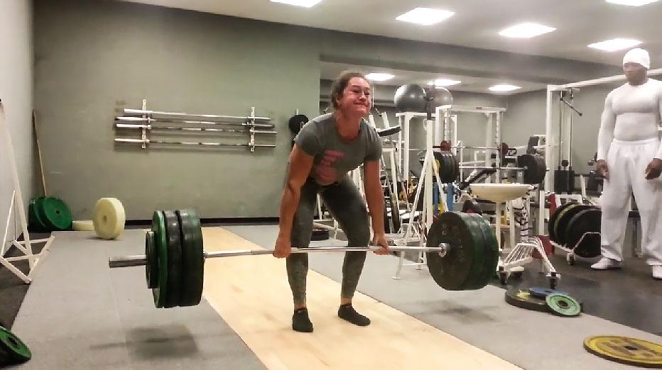 Nora J 228 Ggi 200kg Deadlift At 75kg Update 207 5kg All