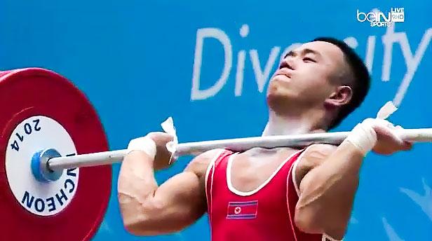 Om Yun Chol 170kg Clean & Jerk World Record at 56kg - All ...