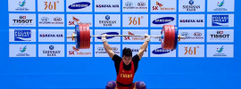 Tian Tao 218kg Clean & (Squat) Jerk at 85kg *Update* Interview  Translation Added