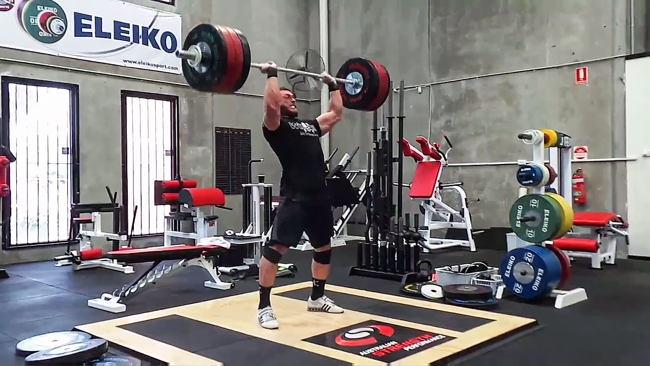 Dmitry Klokov 191kg Thruster All Things Gym