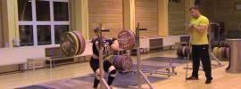 Ekaterina Katina 190kg x2 Front Squat