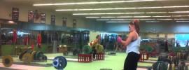Lydia Valentin Perez 130kg Block Snatch + 160kg Block Clean