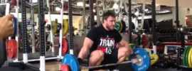 Dmitry Klokov Snatch Grip Front Raises in Squat