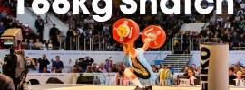 Vladimir Sedov 188kg Snatch 2014 Worlds