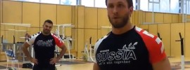 Dmitry Berestov & Dmitry Klokov Training Session in Chekhov