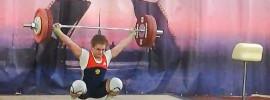 Olga Zubova 130kg Snatch + 165kg Clean & Jerk