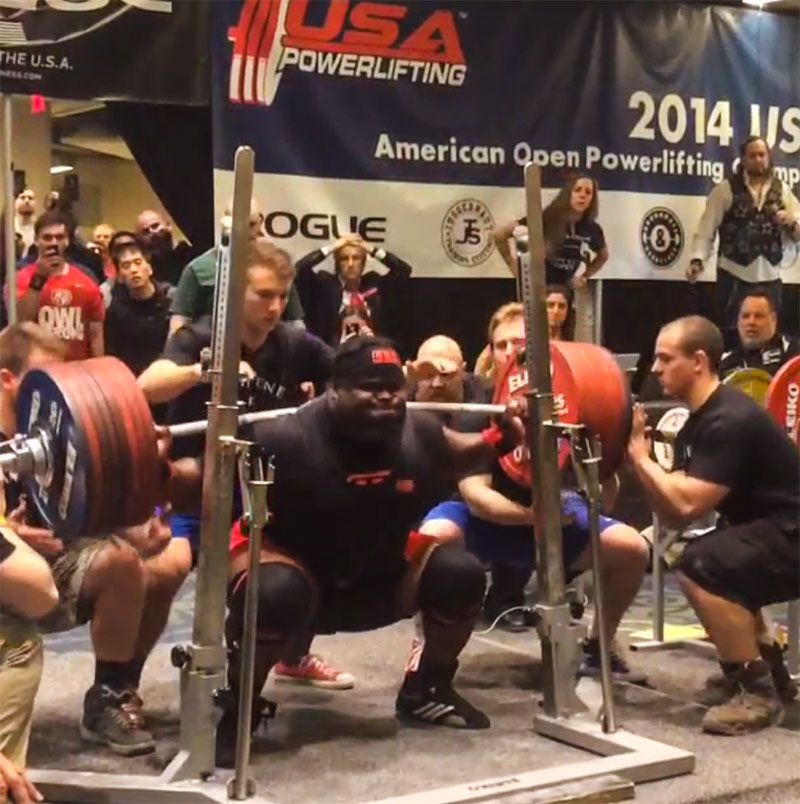 Ray Williams 422kg Squat USAPL American Open - All Things Gym