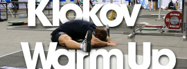 Dmitry Klokov Warm Up 2014 Worlds Training Hall